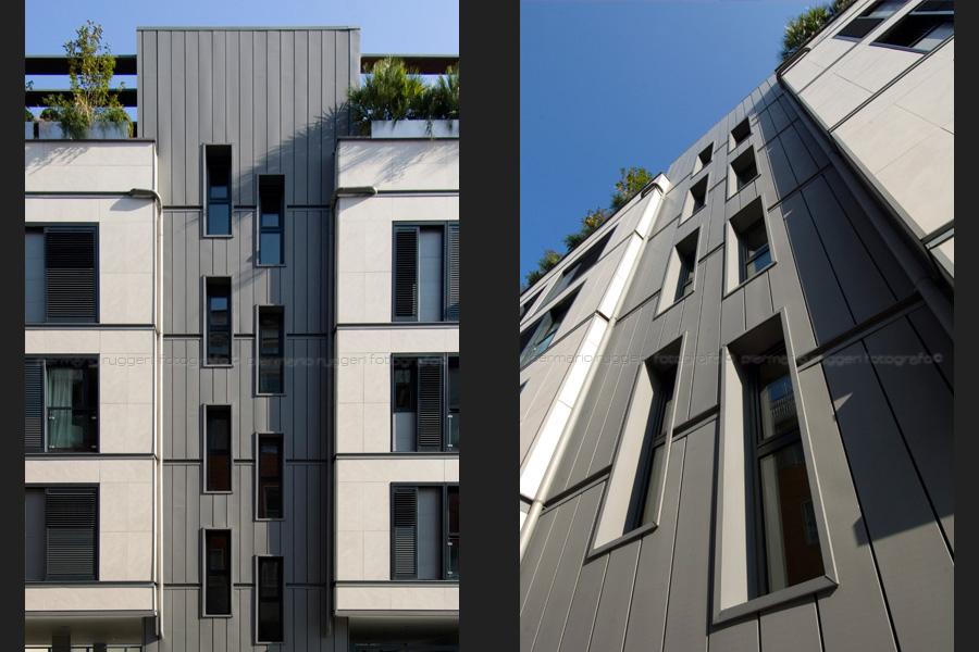 edificio residenziale - milano - arch. studio giugiaro