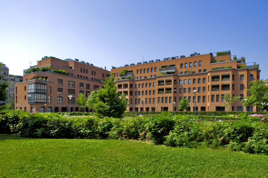 edificio residenziale - milano